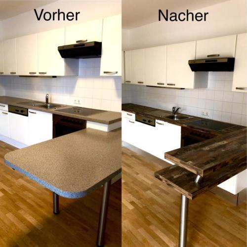 küche vorher / nachher